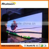 Advertising programmable mobile led display dj booth tv modul cabinet taxi roof sign small digital display screen ecran rgb