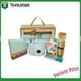 Blue Color Gift Package Fujifilm fuji Instax Mini 8 Instant Film Camera