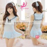 2051 Sexy Women's Lingerie Dress Underwear Transparent Babydoll Sleepwear+G-string