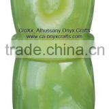 Multi Green Onyx Vase FV280