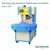 Rotating-type pneumatic high frequency machine High frequency plastic welding machine High frequency welding machine