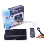 H-D-M-I ATSC SIGNAL TV BOX DIGITAL CONVERTOR HDTV RECEIVER ANTENNA with USB + Remote