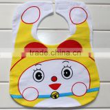 China alibaba 100% best cotton disposable paper baby bib