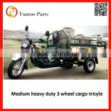 Single cylinder,air-cooling,4 stroke heavy duty three wheel cargo tricyle 3 wheel motorcycle on sale