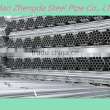 ASTM,EN,DIN,JIS Standard ERW/welded Round Hollow Section Galvanized Steel Pipe/tube Manufacturer