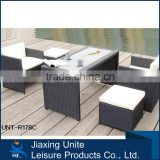 5pc Cane furniture - space save rattan cube garden furniture/garden treasures outdoor furniture