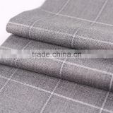 China Fabric textile supplier Designer Woven polyester elastane stain fabric price per meter wholesale for garments