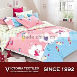 Sweet Home Textile Home Collection Duvet Cover Set Heart Cloud Bottle Postcart Bedding For Kids With Yellow Sheets