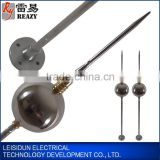 Single ball-shaped lightning rod (H=1.5m) types of lightning arrester