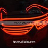 multi-color fashion light up EL wire glasses for Concert Night Clubs party