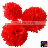 Wedding cake decoration valentine paper honeycomb table centerpieces tissue pom poms