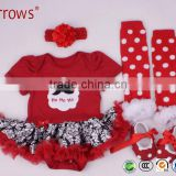 Wholesale Baby Girl Boutique Clothing Sets Cheap Baby Girl Clothes Flower Girl Tutu Dresses