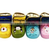 Manufacturer Winter Fancy Embroidered Soft Sole Baby Shoes Boots