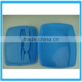 Plastic Preservation Box With Knife And Fork , Kitchen Crisper ,Plastic Lunch Box With Knife And Fork