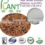 100% Natural star anise oil extract powder