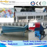 PET bottle washing machine line/ PET bottle recycling line/ PET bottle flakes making machine line