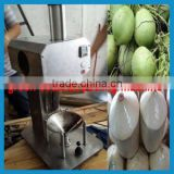 Electric automatic coconut trimming machine for green coconut peeling