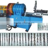 stainless steel pipe embossed machine
