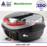 Foshan Adlo plant Hot sale Black color motorcycle tail box with good quality