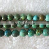 wholesale natural green turquoise beads
