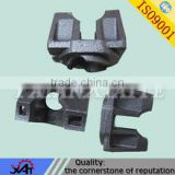 CNC machining parts ductile iron material of construction engineering fittings parts fastener