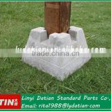 Concrete deck block,portable concrete base