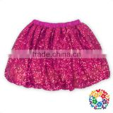 2016 Formal Skirts Designs Red Color Baby Girls Mini Skirt Girls Sequin Short Skirt Yiwu Wholesale Kids Clothing And Dress Set
