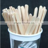 2014 Wholesale Custom Biodegradable Wooden Coffee Stir Rod