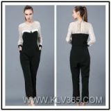 Designer Women Fashion Lace Jumpsuit Pants Wholesale