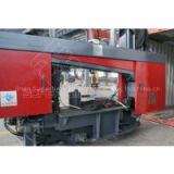 CNC rotation angle band saw machine for H beam