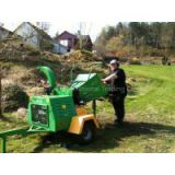 Wood chipper with 22hp diesel engine CE approved