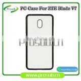 2d sublimation PC plastic blank smartphone case cover for Prosub-ZTE Blade V7