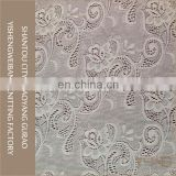 Romantic beautiful flower sewing elastic african lace fabrics for wedding