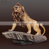resin handmade lion statue