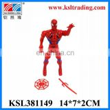 best sell red spider plastic small toys for kids