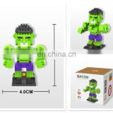 Diamond Nano Mini Building Blocks Enlighten Bricks Toy The Hunk