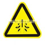 Custom Made Aluminum Triangle Traffic Warning Signs