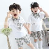 children clothing 2016 school uniforms kids clothes wholesale for girl &boy for summer