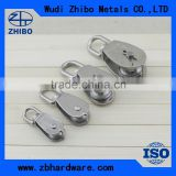 China hot sale stainless steel wire rope pulley block with good quality ,non-standard custom service