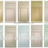 European Style PVC Membrane MDF Cupboard Book Cabinet Kitchen Door Only                                                                         Quality Choice