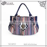 Bulk Sale Colorful Canvas Tote Bag for Female China Origin