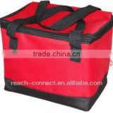 6 can cooler bag 600D soft tote fooler bag soft cooler bags for food non woven cooler bag