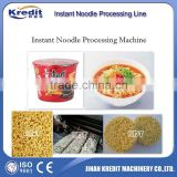 Fried Instant Noodles Making Machine/Cup Noodle Processing Line/Halal Instant Noodles Processing Line/