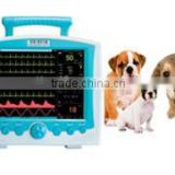 AJ-300VET Multi-parameter Animal Patient Monitor Portable ECG SOP2 Veterinary Monitor for Veterinary Clinics and Hospitals