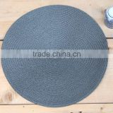 pvc bamboo pp woven fabric placemat