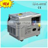 6KVA small digital panel single phase small diesel generators for sale