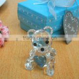 2013 Weddin gifts for the guest of choice Crystal Collection Teddy Bear Favors figurines souvenirs