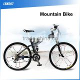 (160428) High quality cheap racing aluminum alloy leisure fixed gear folding bike