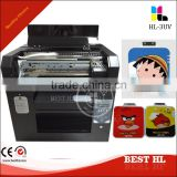 Best selling usb drive logo diy printer from China, flatbed UV printer without coating, with embossed effect logo Printing