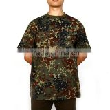 Compressed and eco-friendly custom color camouflage breathable tactical graphic t shirts
